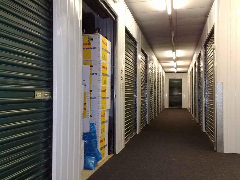 Entreprise en ligne et location de box de stockage